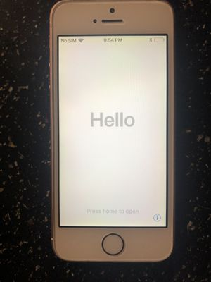 Iphone SE Verizon rose gold for Sale in Tampa, FL