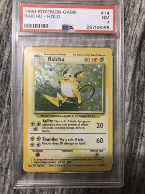 Raichu Pokemon Card for Sale in Bristol, CT