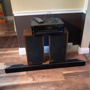 SONY Stereo, EPI Subwoofers, and Pioneer Soundbar for Sale in Mentor, OH