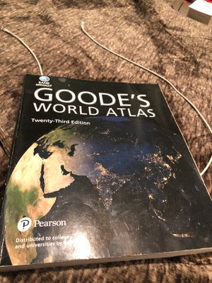 Goode's world atlas book for Sale in Downey, CA