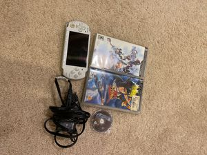 PSP with a charger and 3 games (Kingdom hearts, Jak and Daxter, GTA) for Sale in Olney, MD