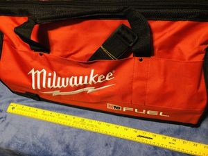 """Milwaukee 22"""" Tool Storage Bag With Shoulder Strap. New! for Sale in Mundelein, IL"""