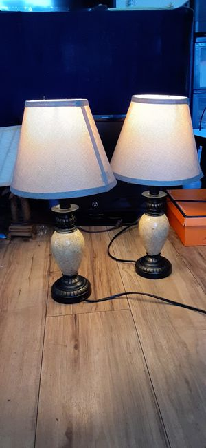 2 small lamp for Sale in San Diego, CA