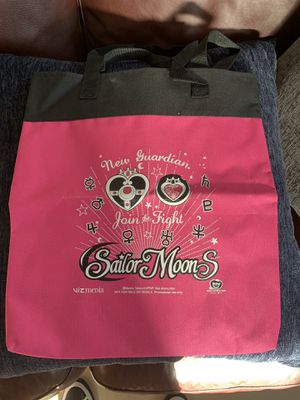 Viz Media Sailor moon Bag unused from Comic Con for Sale in Oceanside, CA