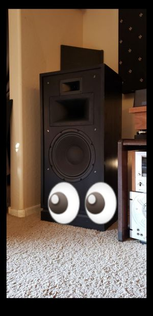 Completely Original Klipsch Forte II Vintage Speakers / Excellent Condition / KLIPSCH'S #1 SELLING SPEAKERS OF ALL TIME for Sale in Maricopa, AZ