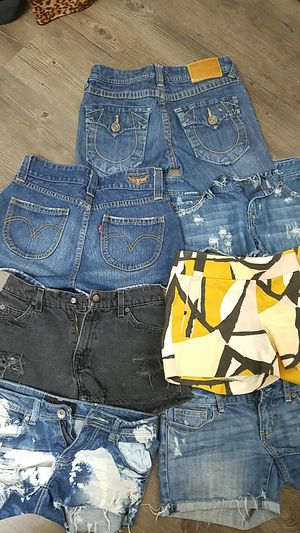 Shorts size small- levi, true religion and more $ 4 each for Sale in Dallas, TX