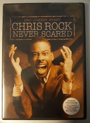 Chris Rock (Never Scared) DVD for Sale in Fort Washington, MD