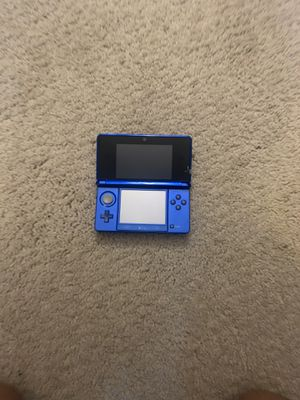 Nintendo 3ds midnight blue for Sale in Moreland Hills, OH