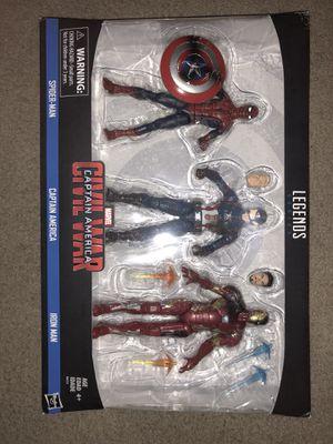 Marvel legends civil war 3 pack for Sale in Columbus, OH