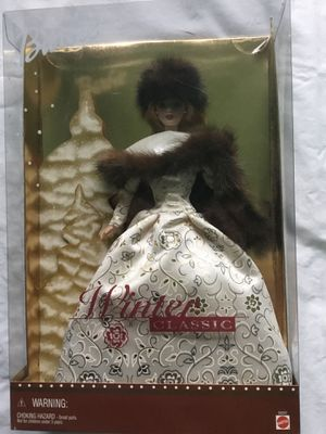 Barbie Winter Classic 2001 Special Edition Collectible New in box for Sale in Hazlet, NJ