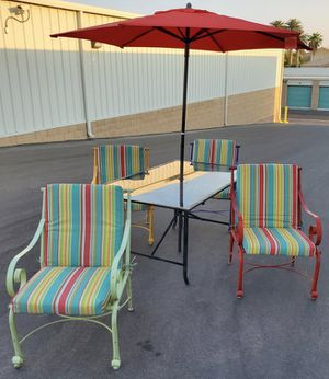 6 piece outdoor patio set furniture🔥🔥🔥 FREE DELIVERY WITHIN 5 MILES 👍 for Sale in Las Vegas, NV