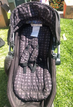 JJ Cole Stroller with two car seat adapters and two different color umbrella for Sale in Montclair, CA