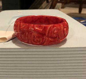 Red Fashion Bangle Bracelet for Sale in Parkville, MD