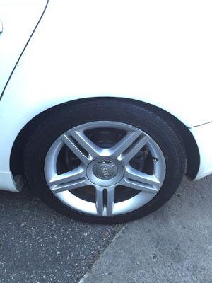"Audi A4 Jetta Passat cc 17"" 5x112 wheels for Sale in New York, NY"