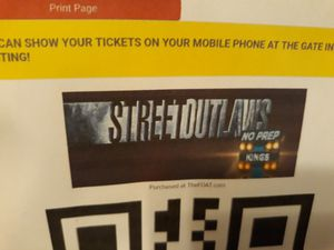 Street Outlaws No Prep Tickets for Sale in St. Petersburg, FL