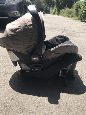 BRITAX car seat and base-used for Sale in Tustin, CA