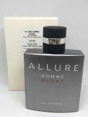 Chanel Allure Homme Sport Eau Extreme concentre 3.4 Oz for men for Sale in Coral Springs, FL