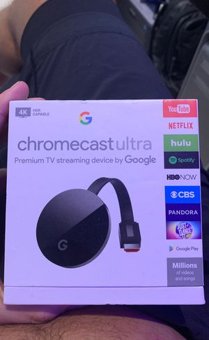 Google Chromecast Ultra 4K for Sale in Fort Lauderdale, FL