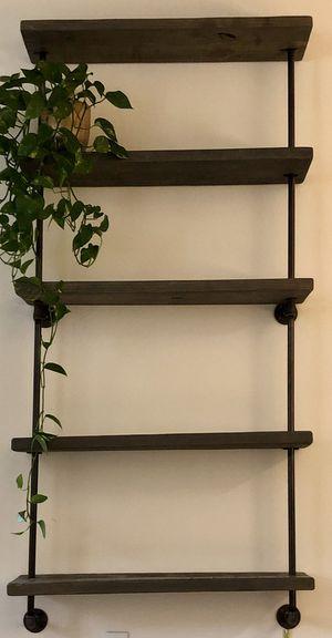 Custom gray real wood shelves for Sale in Irvine, CA