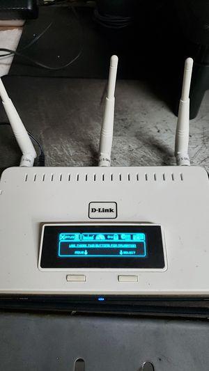 DLink wifi router w Display for Sale in Phoenix, AZ