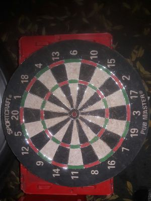 Cork board comes with 2 sets of darts for Sale in Citrus Heights, CA