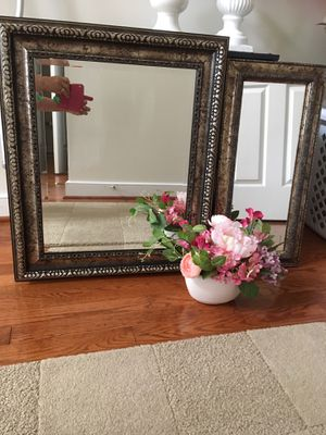 2 wall framed mirrors for Sale in Columbia, MD