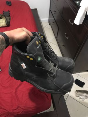 """Terra 6"""" steel toe work boots! Brand new, never worn size 14 for Sale in Miami, FL"""