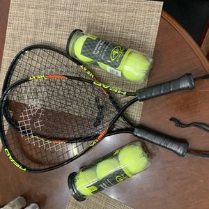 Head tennis rackets and balls for Sale in Columbus, OH