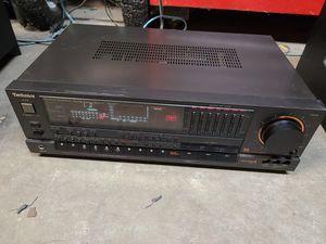 Vintage Technics SA-R430 AM/FM Stereo Receiver AC 60Hz, 120V, 420W, 550VA for Sale in Newport, NC