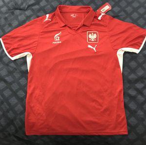 Polish Puma Soccer Team Jersey (L) for Sale in Orlando, FL