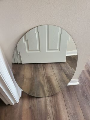 "Frameless Oval Mirror with Beveled Edge - 20"" W x 30"" H Oval Mirror (2 available) for Sale in Longwood, FL"