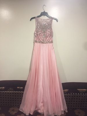 Pink Bedazzled Prom Dress for Sale in Detroit, MI