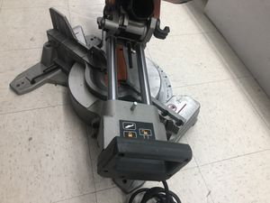 Ridgid ms255sr compound miter saw-used for Sale in Bay Shore, NY