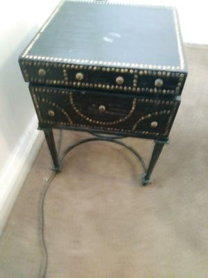 Antique vintage open top chest table for Sale in Southgate, MI