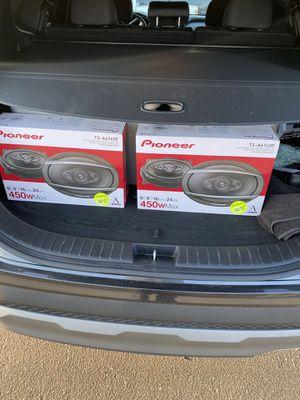 Pioneer 6x9s 4 way 450watts for Sale in Fontana, CA