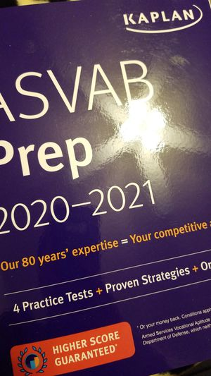 Kaplan ASVAB Prep 2020-2021 for Sale in Lubbock, TX