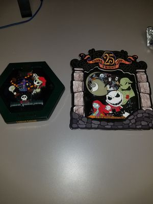 Halloween Nightmare Before Christmas Disneyland Jumpo Trading pins for Sale in Norco, CA