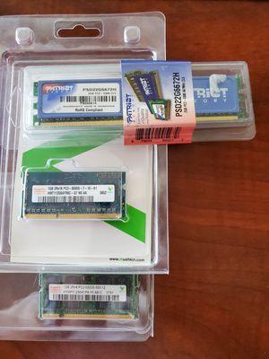 Various Laptop and Desktop Memory for Sale in Las Vegas, NV
