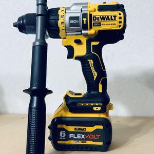 Flexvolt Hammer Drill And Battery 60v for Sale in San Antonio, TX
