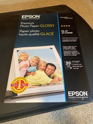 Epson Premium Photo Paper for Sale in Plymouth, CT