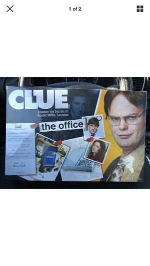Clue Board Game The Office edition for Sale in Auburn, WA
