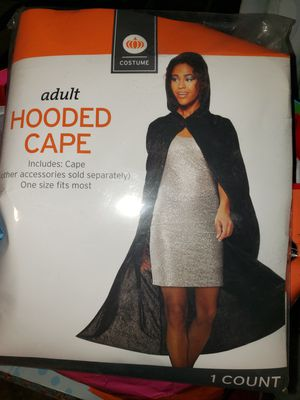 Adult hooded cape for Sale in Los Angeles, CA