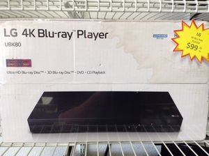 Lg 4K under 3D Blu Ray player/smart player 11091135001 for Sale in Sacramento, CA