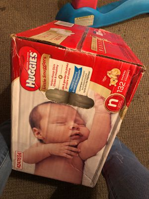 New born huggies dippers for Sale in San Diego, CA