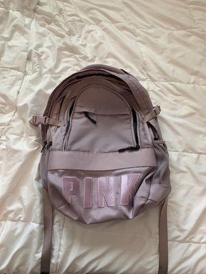 Pink Victoria Secret Lavender Backpack *Pre-Owned* for Sale in Miramar, FL