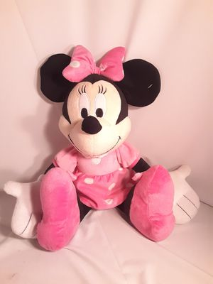Like new Minnie Mouse plush doll for Sale in Chino, CA