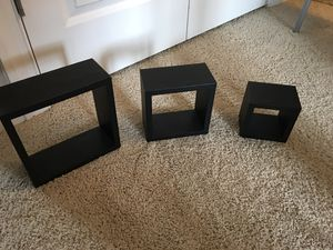 Set of 3 floating shelves for Sale in Apex, NC