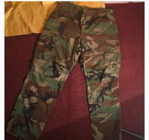 Camo/army cargo pants for Sale in Portland, OR