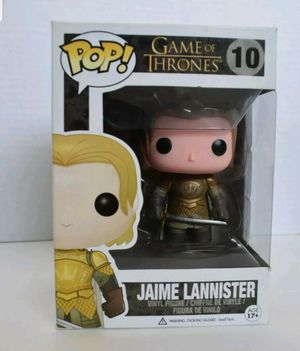 FUNKO POP EXCLUSIVE JAIME LANNISTER for Sale in Falls Church, VA