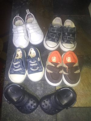 5 Pairs of Baby Boy Shoes for Sale in Orange City, FL